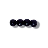 3mm Black Pearl Beads 125 pack Toy Eyes