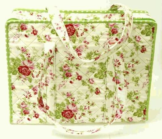 Knitting Accessories Uk : Amy butler fabric knitting accessories bag chintz