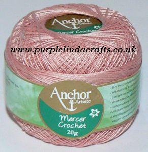 Anchor Artiste Mercer Crochet Cotton Thread No.40 tkt