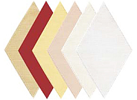Anchor Home - Fabric Shapes for Patchwork Crochet RHOMB Cream 926