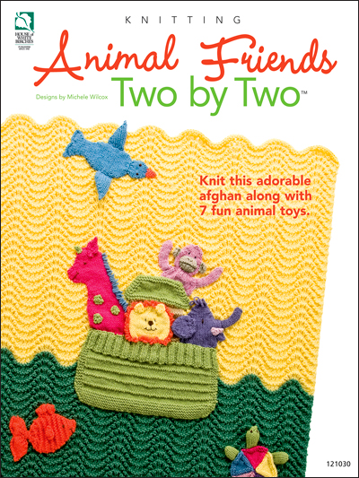Knitting Pattern Books : Animal Friends Two by Two Knitting Pattern Book