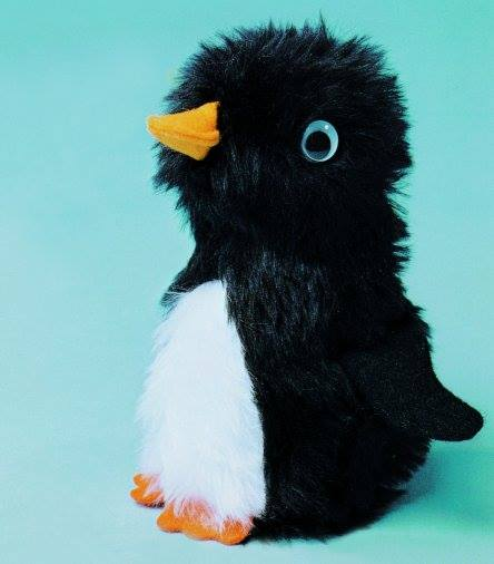 Baby Penguin Fluffy Sewing Kit Tk101 Minicraft