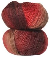 Crystal Palace MINI Mochi Wool 329 Cherries Jublie