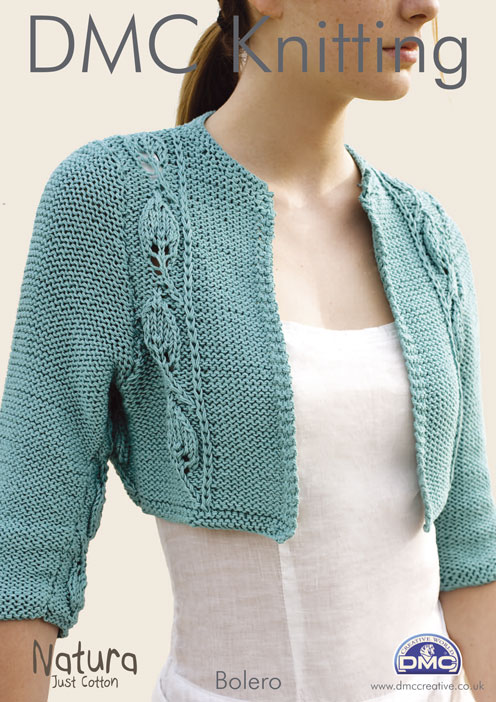 Knitting Pattern For Bolero Shrug : Knitted Bolero Jacket Free Pattern images