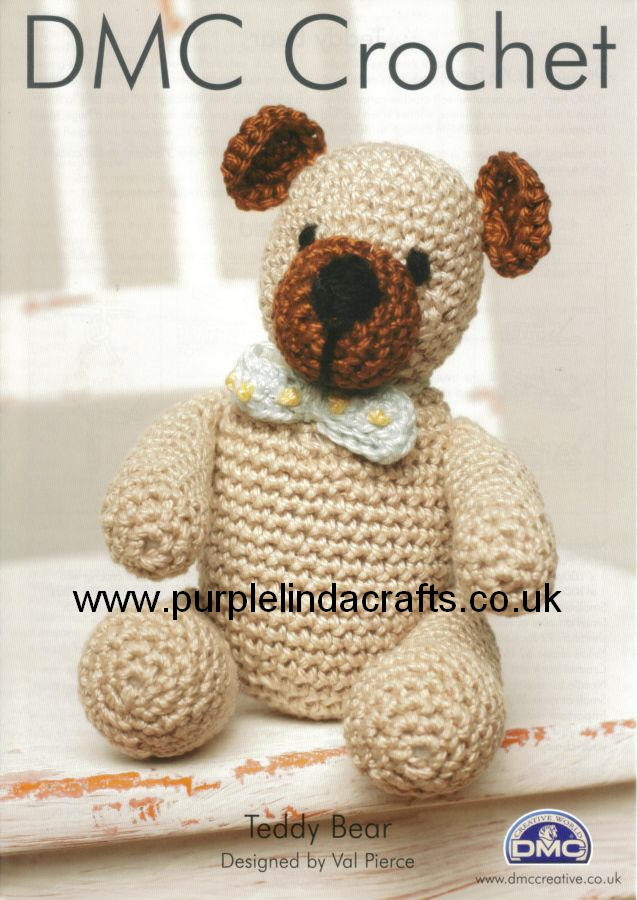 DMC Teddy Bear Crochet Pattern 11887L 2