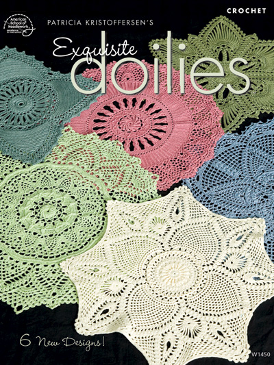 Exquisite Doilies Crochet Pattern Book Asn
