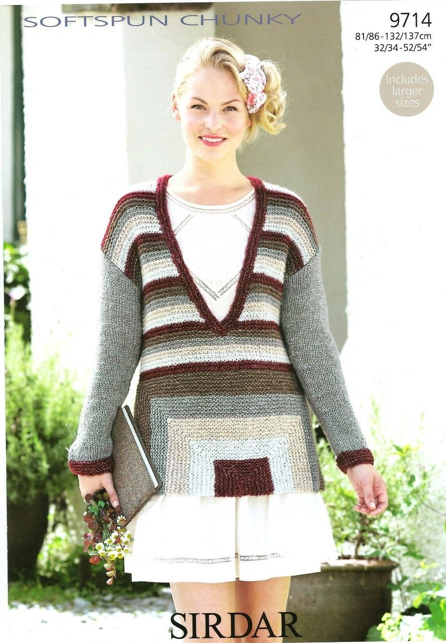Magnificent Knitting Patterns Ladies Jumpers Ensign - Sewing Pattern ...