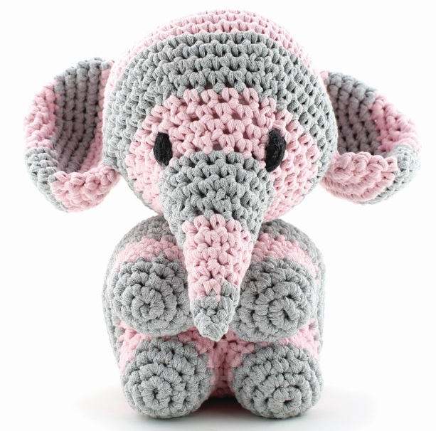 Hoooked Maxigurumi ELEPHANT Mo Crochet Kit CR052K