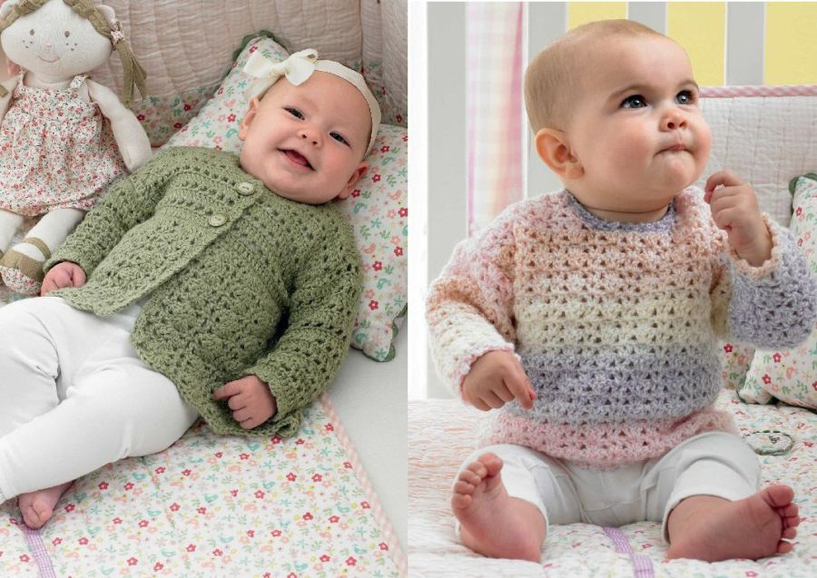 Crochet Patterns King Cole : This is a Crochet book for baby designs from King Cole, designed by ...