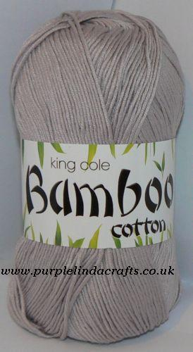 Knitting Patterns For King Cole Bamboo Cotton : King Cole Bamboo Cotton DK Yarn 610 Pebble