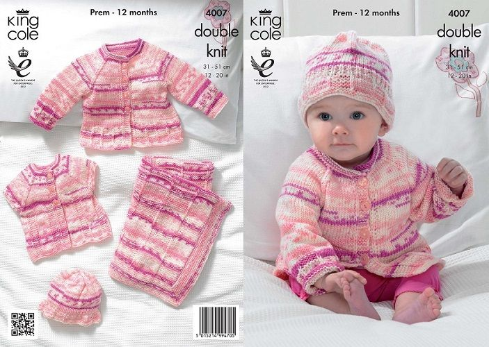 Free King Cole Baby Knitting Patterns Ipaafo For