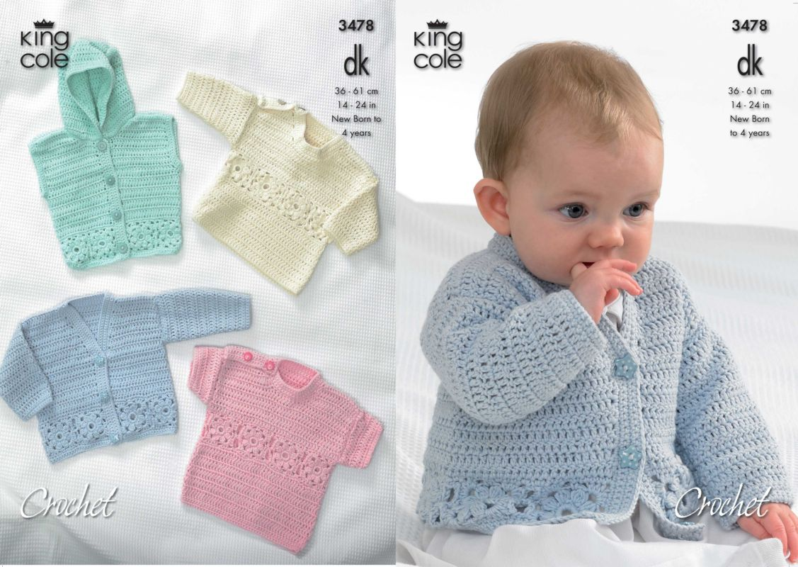 Crochet Baby Patterns Beginners : Pics Photos - Crochet Baby Hooded Sweater Free Patterns ...