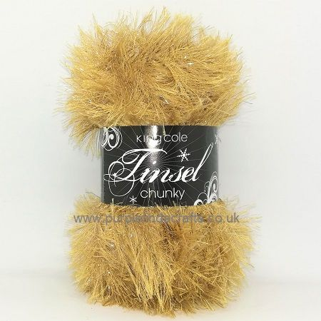 King Cole TINSEL Chunky 1860 LATTE