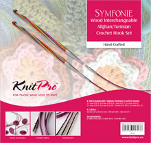 Knit Pro Symfonie Tunisian/Afghan Crochet Hook SET
