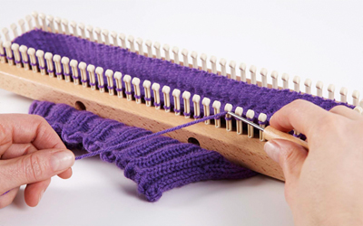 KB SOCK LOOM 2 Adjustable, Authentic Knitting Board and Looms