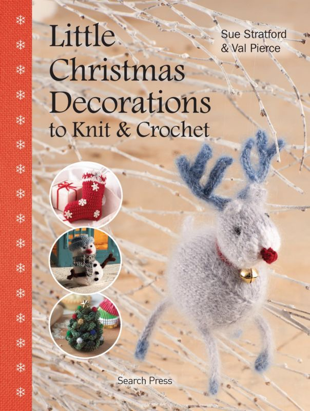 Knitting And Crochet Books : Little Christmas Decorations to Knit and Crochet Book