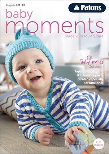 Knitting Books For Babies : Patons baby moments knitting book