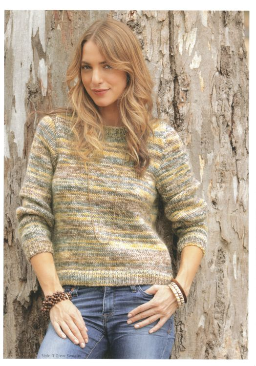 Knitting Patterns For Chunky Wool Cardigans : Patons Eco Wool Chunky Cardigan Sweater Knitting Pattern 3743