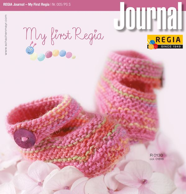 Knitting Pattern Books : Regia Journal - My First Regia Nr. 005 Baby Knitting Pattern Book