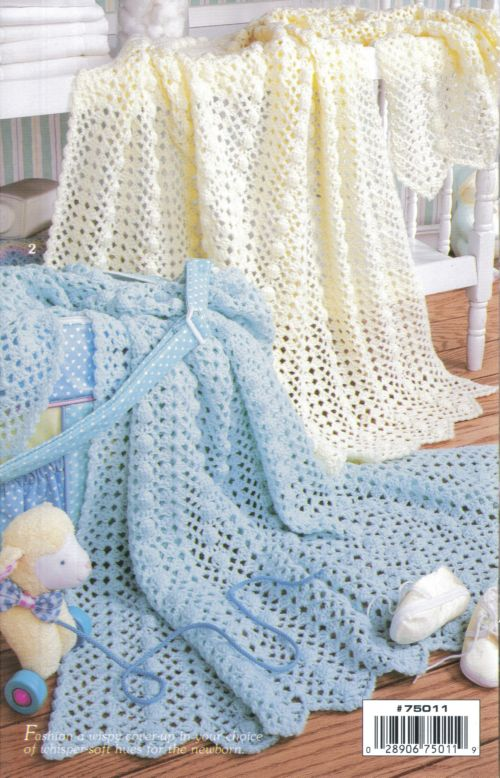 Crochet Patterns Book : This is an A5 booklet from Leisure Arts it has 8 designs for crochet ...