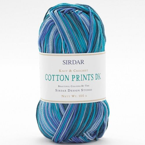 Sirdar Cotton PRINTS DK 350 Making Waves