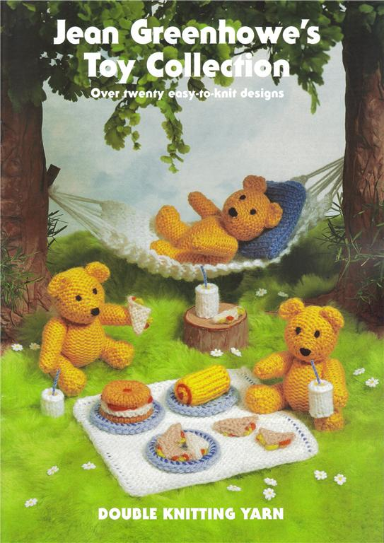 Toy Collection Knitting Pattern Book Teddy Bears Picnic