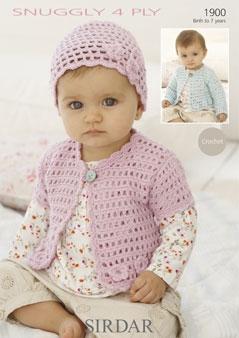 FREE 4-PLY YARN BABY PATTERNS Lena Patterns