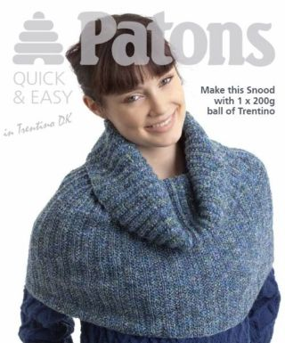 CROCHET PATTERN FOR A SNOOD - Crochet Club