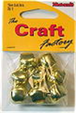 12mm GOLD Bells 8 pcs Sew On