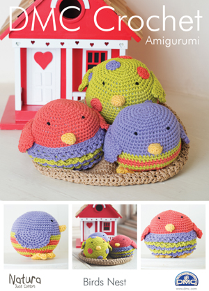 15097 DMC Birds Nest Natura Crochet Pattern