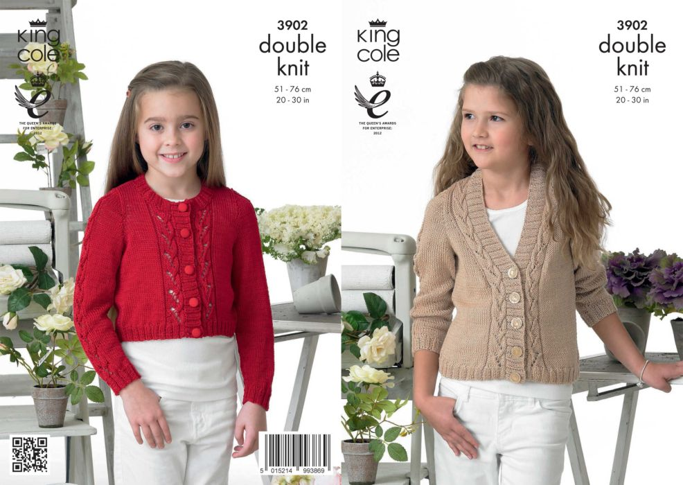 Knitting Jacket For Girl : Girls knitted cardigan patterns image collections knitting