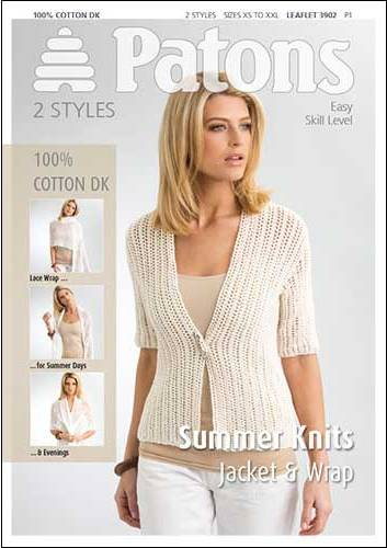 3902 Patons Summer Knits Smoothie Dk Knitting Pattern