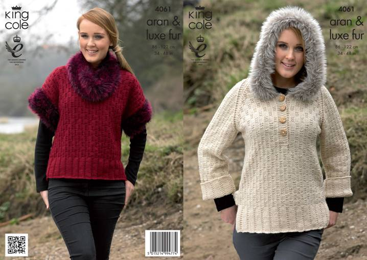 King Cole Luxe Fur Knitting Patterns