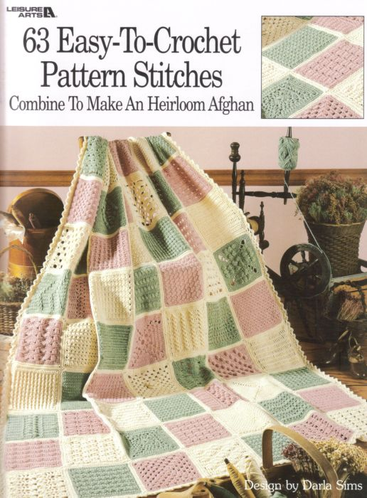 Book Cover Crochet Uk ~ Easy to crochet pattern stitches book