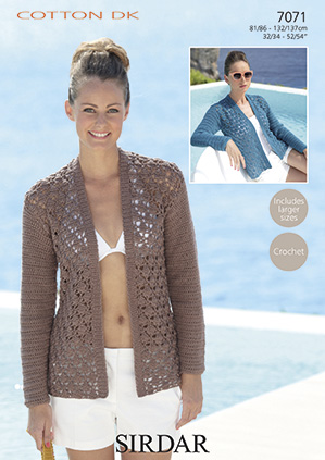 Sirdar Cotton Dk Knit And Crochet Patterns