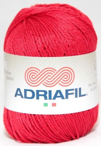 Adriafil CHEOPE Cotton 017 Red REDUCED