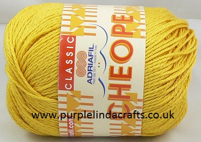 Adriafil CHEOPE Cotton 071 Yellow Sun REDUCED