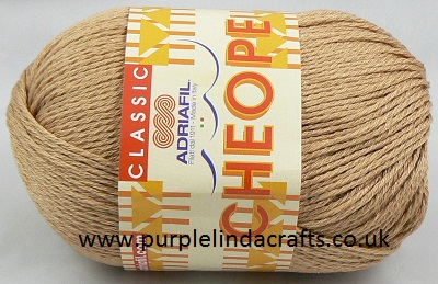 Adriafil CHEOPE Cotton 097 Camel REDUCED