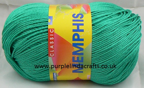 Adriafil MEMPHIS Cotton Yarn 16 Green REDUCED