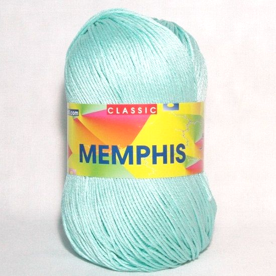 Adriafil MEMPHIS Cotton Yarn 18 Sea Green REDUCED