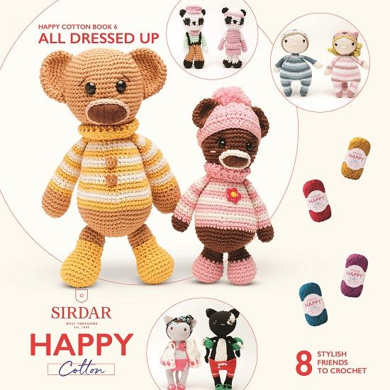 All Dressed Up Happy Cotton Book 6