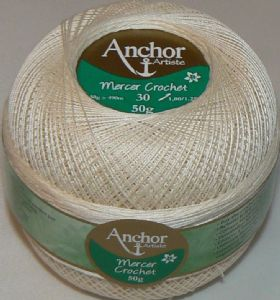 Anchor Artiste Mercer Crochet Cotton Thread No.30 tkt