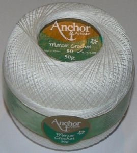 Anchor Artiste Mercer Crochet Cotton Thread No.50 tkt