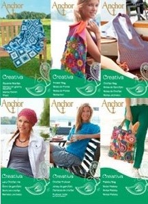 Anchor Creativa Blanket, Hat, Pullover and Bags Leaflet Patterns