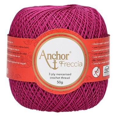 Anchor Freccia Crochet Cotton 6, 8, 12, 16, 20 & 25