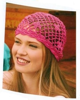 Anchor Freccia Style it Crochet Kit Pink Hat