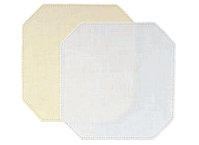 Anchor Home - Patchwork Crochet Fabric Shapes SQUARE Lt Beige 926 (cut corners)