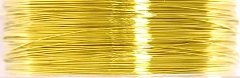 Beading Wire 34 Gauge Gold