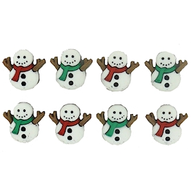Christmas Embellishment Pack | Sew Cute Snowmen | Dress it up 7494