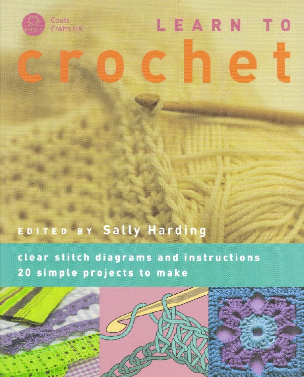 Book Cover Crochet Uk ~ Coats learn to crochet book pb